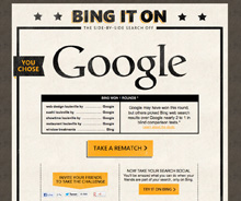 The Bing Challenge-Search Engine
